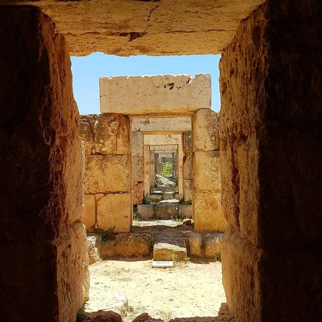 People always try to box you in to what they know you best for.🏛 ... (Roman ruins in Tyre)